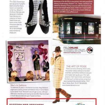 Scottish Field Magazine December 2013